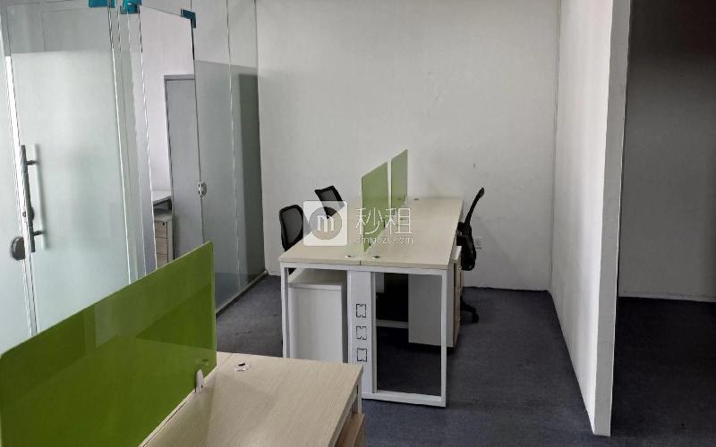 携富空间-濠盛商务中心写字楼出租93.69平米精装办公室120元/m².月