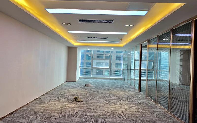 金中环国际商务大厦写字楼出租196平米豪装办公室165元/m².月