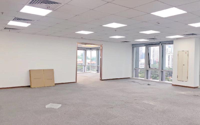 中央西谷大廈寫字樓出租425平米精裝辦公室128元/m2.月