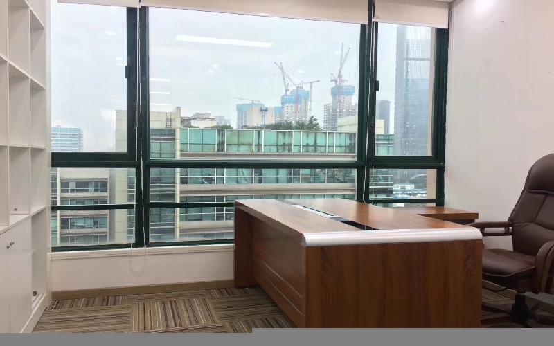 劲松大厦写字楼出租418平米精装办公室118元/m².月