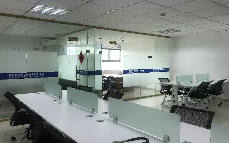 鸿华中心写字楼出租96平米豪装办公室65元/m².月