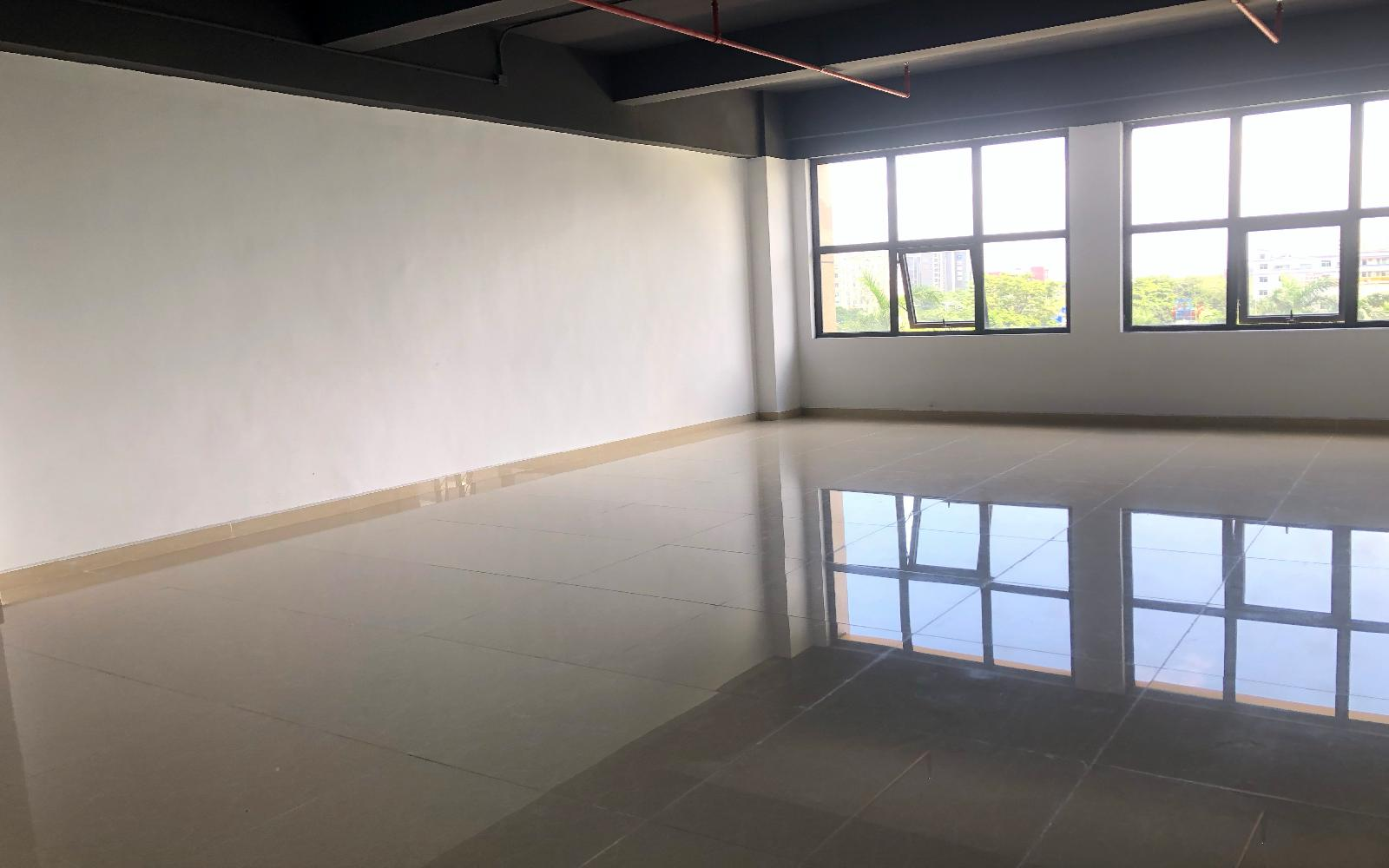 华盛泰科技大厦写字楼出租117平米简装办公室50元/m².月