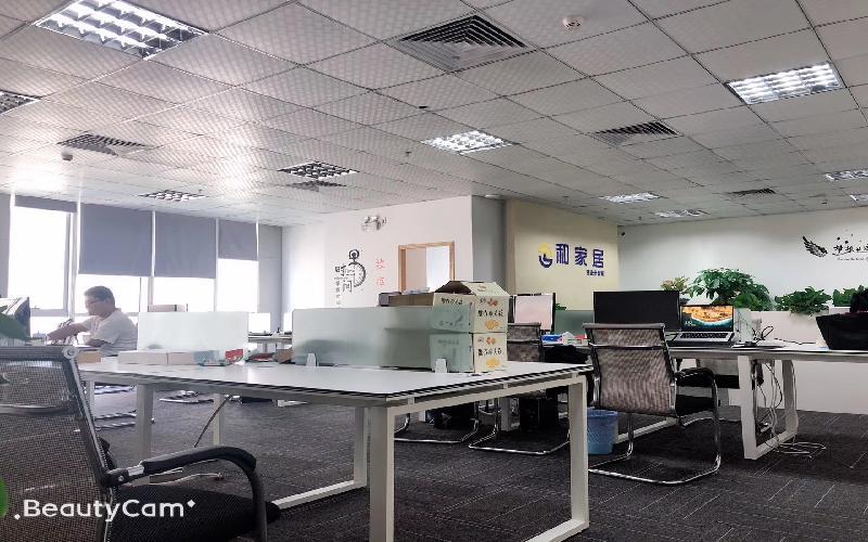 财富港国际中心写字楼出租286平米精装办公室120元/m².月