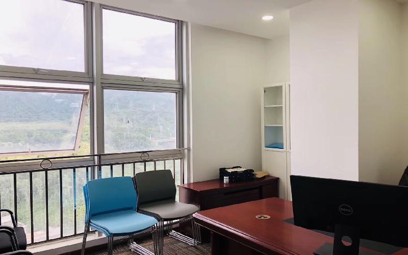 坂田国际中心写字楼出租262平米精装办公室75元/m².月