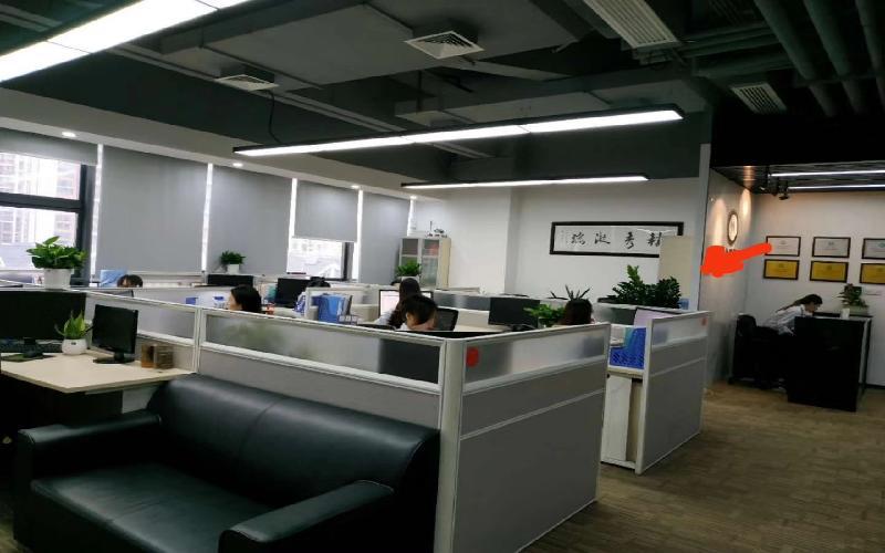 民企科技园写字楼出租369平米精装办公室88元/m².月