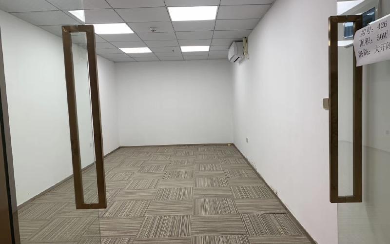 万利工业大厦写字楼出租100平米精装办公室50元/m².月