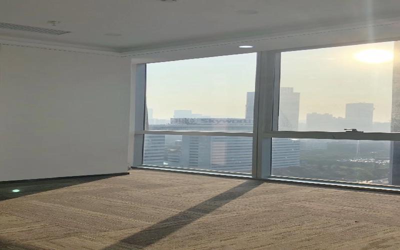 华润城大冲商务中心写字楼出租268平米豪装办公室128元/m².月