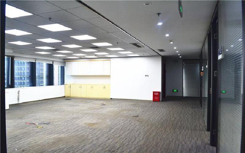 芒果网大厦写字楼出租380平米精装办公室108元/m².月