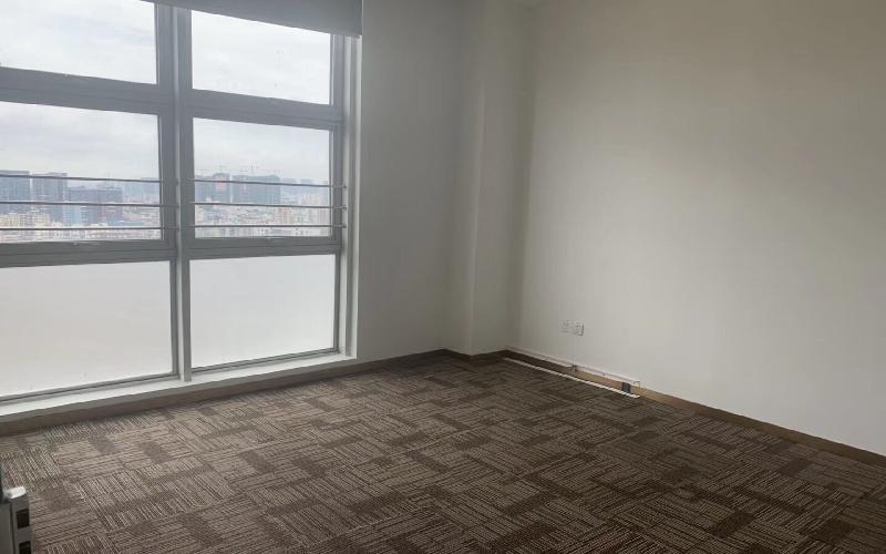 坂田国际中心写字楼出租160平米精装办公室78元/m².月
