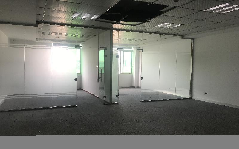 港之龙商务中心写字楼出租117平米精装办公室80元/m².月