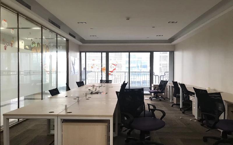 风华科技大厦写字楼出租95平米精装办公室14000元/间.月