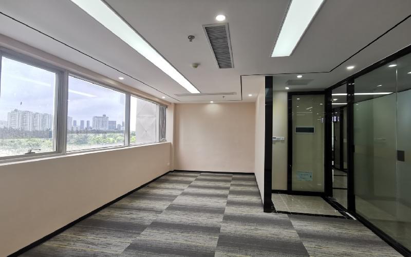 中电照明大厦写字楼出租84平米精装办公室88元/m².月