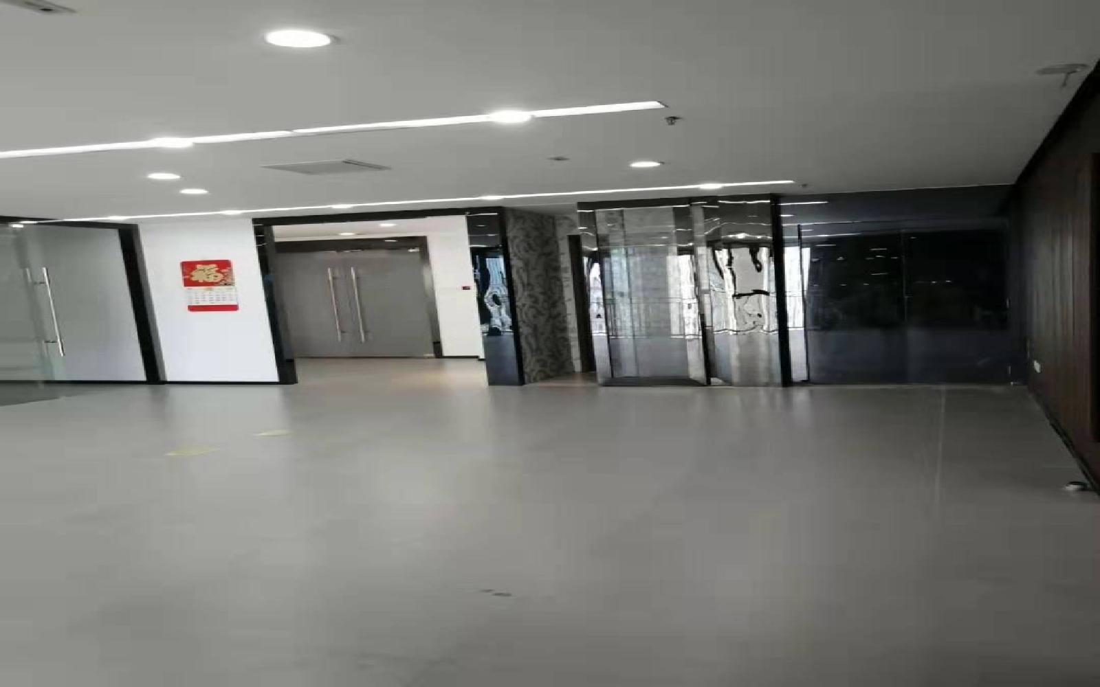 横岗大厦写字楼出租350平米精装办公室75元/m².月