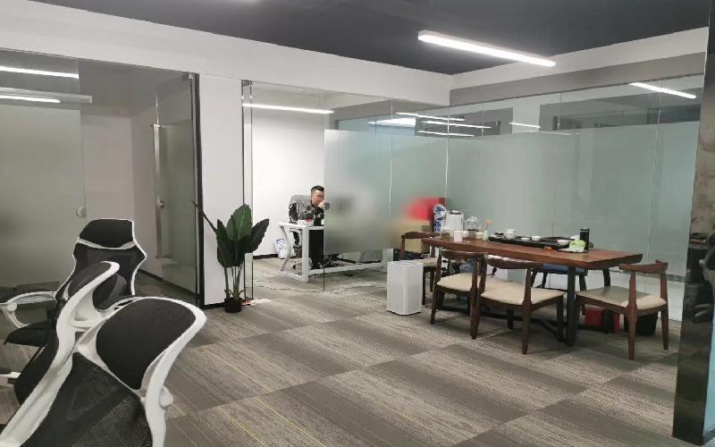 中电照明大厦写字楼出租110平米精装办公室65元/m².月