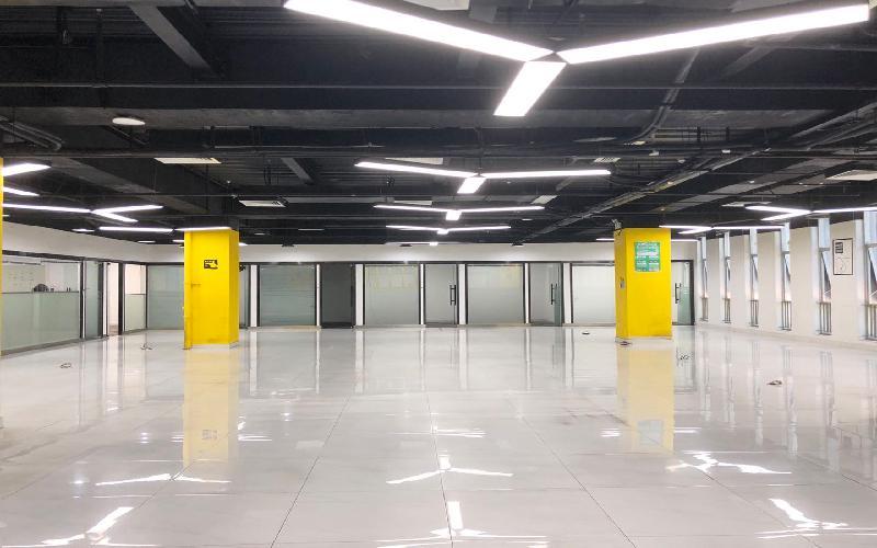 软件产业基地写字楼出租1325平米精装办公室78元/m².月