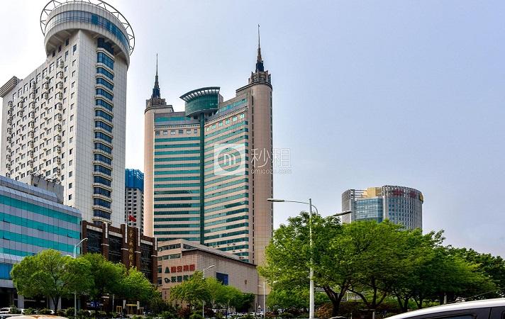 阳光泰鼎大厦办公室出租 山东路16号61平简装甲级写字楼