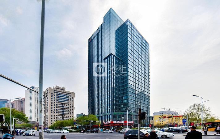 锦绣大厦写字楼出租 山东路延吉路交汇 1734平大面积精装办公室
