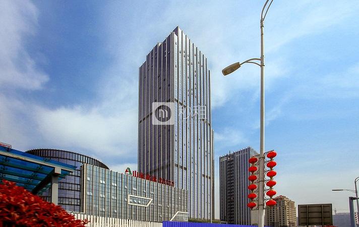 山东高速西海岸中心办公室出租 滨海大道公共艺术园 147平精装写字楼
