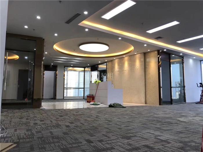 大冲商务中心 435平精装修 地铁口物业 配套成熟 精品写字楼