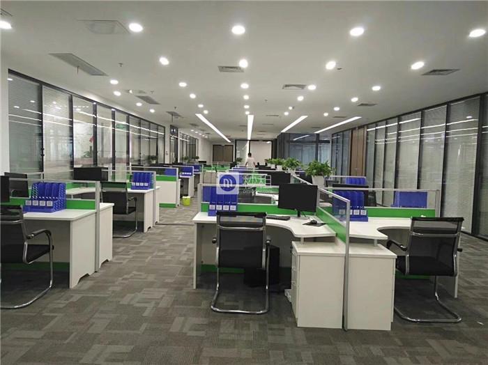 源政创业大厦 精装1045平 园林式办公 户型方正双面采光