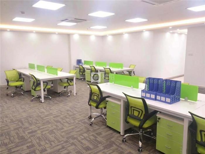 创展中心 新出大气豪装140平 25人办公 方正格局采光好