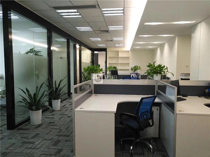 怡化金融科技大厦 368平精装修70人办公 特价125
