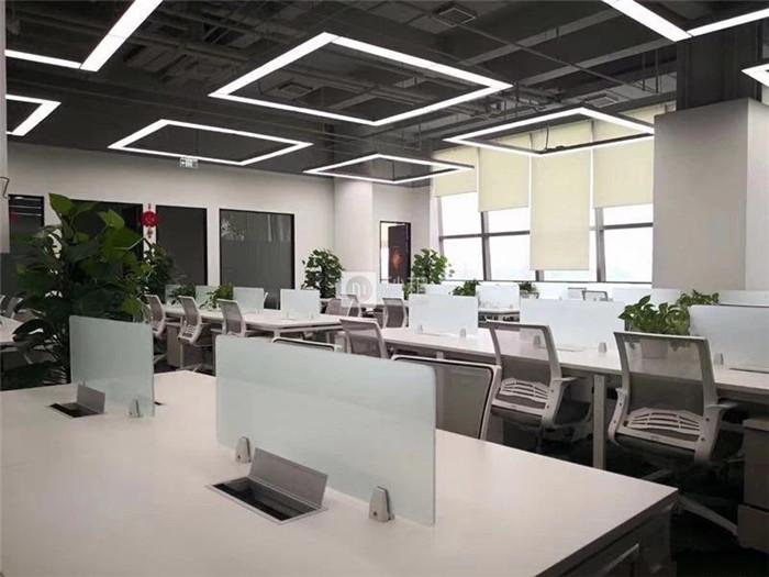 金辉大厦 598平精装修 6个隔断 52个工位 随时看