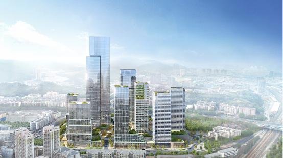 深圳中洲长城国际物流中心项目全面冲出正负零