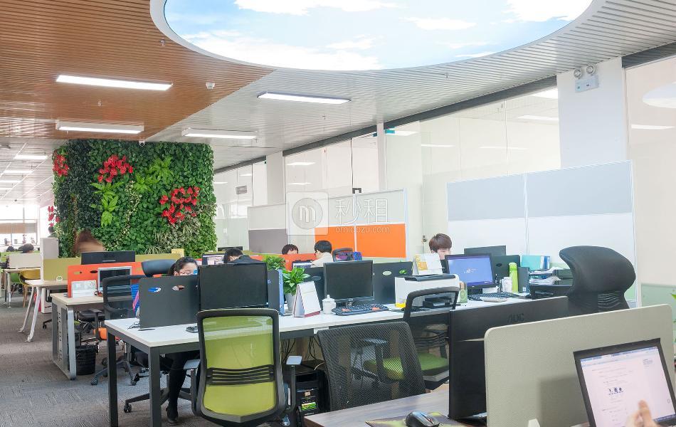 具客众创空间-光浩国际中心写字楼出租4平米精装办公室1180元/工位.月