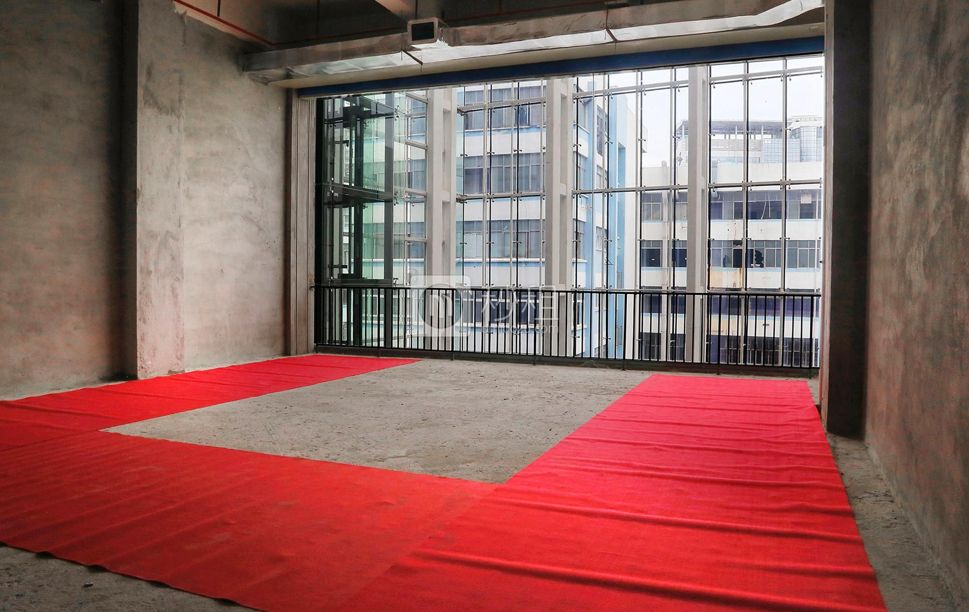 海翔广场写字楼出租176平米毛坯办公室120元/m².月