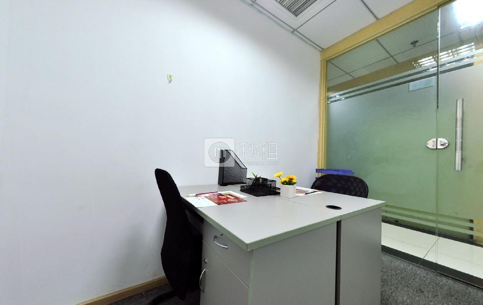 企创商务中心-天济大厦写字楼出租11平米精装办公室2480元/间.月