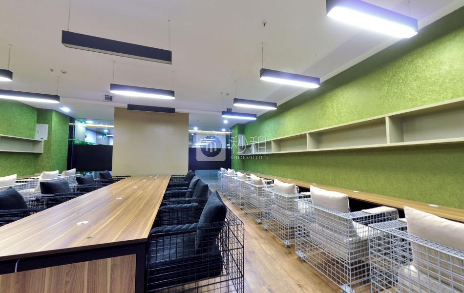 世杰商务中心-赛格科技园写字楼出租5平米豪装办公室800元/工位.月