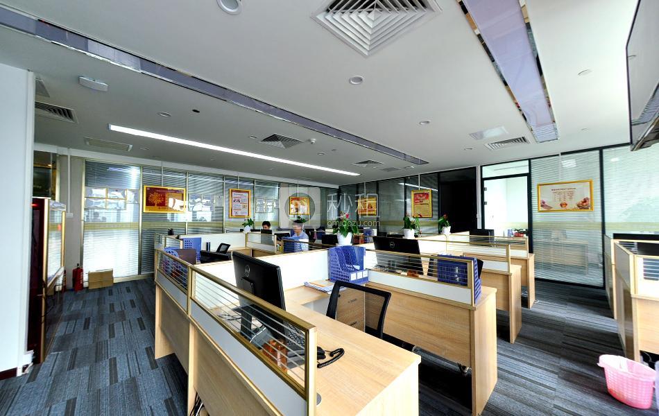 地铁大厦写字楼出租288平米豪装办公室200元/m².月