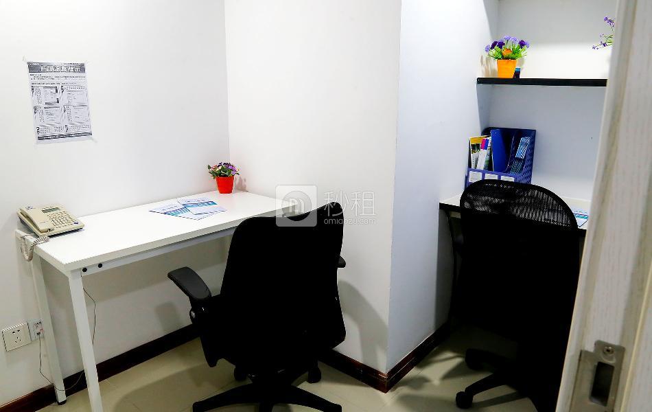 金丰城大厦-创富港写字楼出租8平米精装办公室2200元/间.月