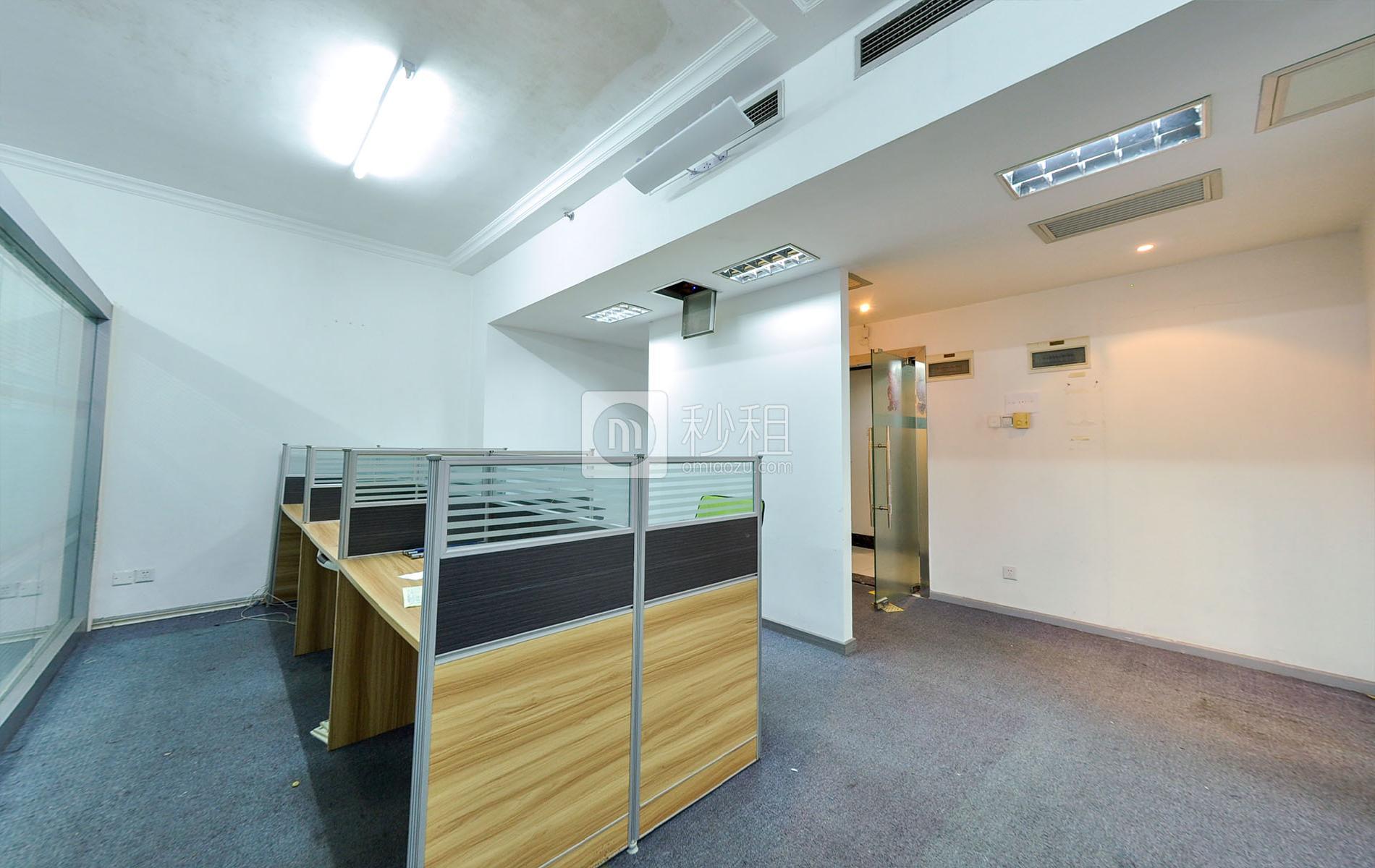 爵士大厦写字楼出租150平米简装办公室110元/m².月