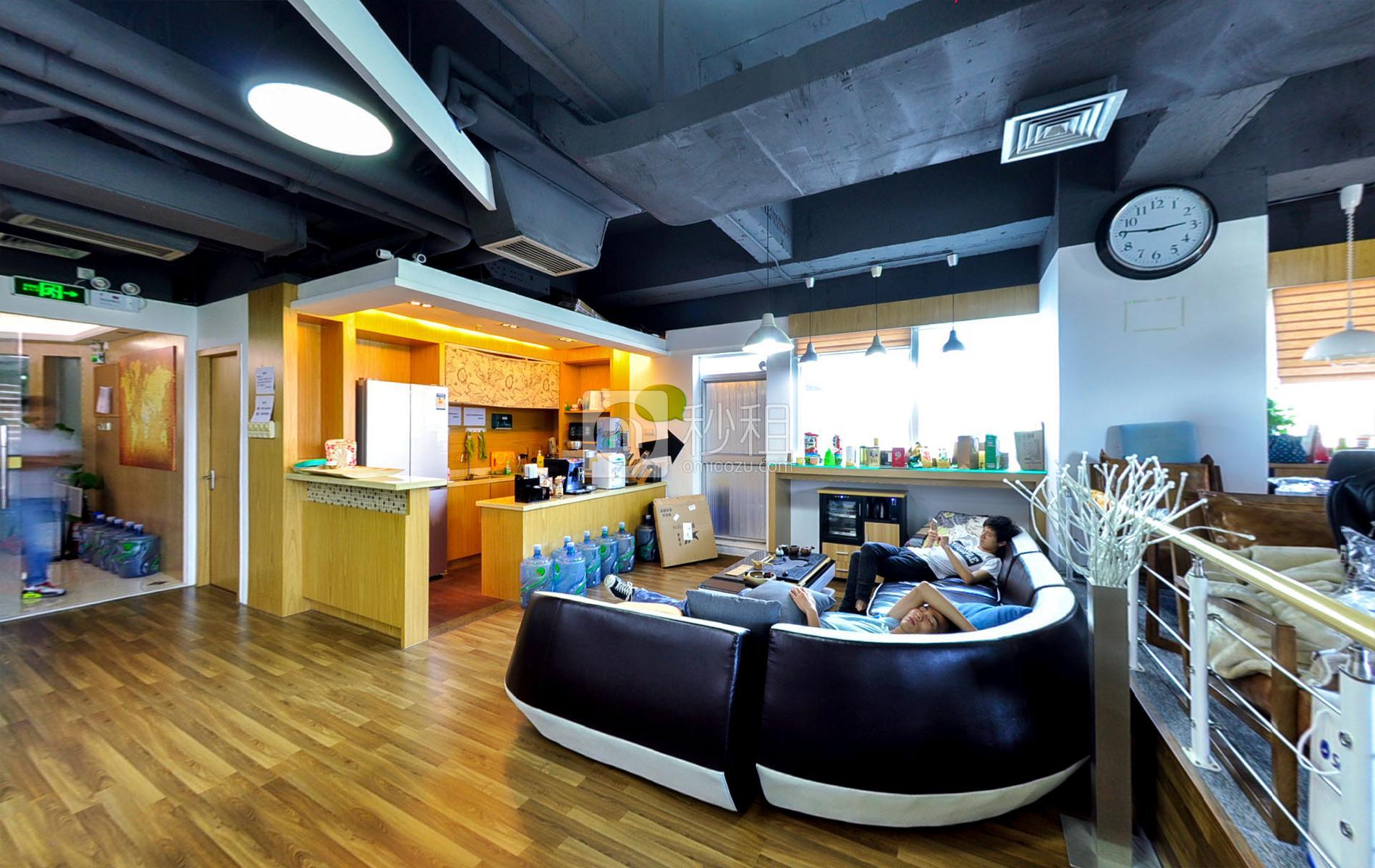 创维大厦-落脚点联合办公空间写字楼出租3平米豪装办公室900元/工位.月