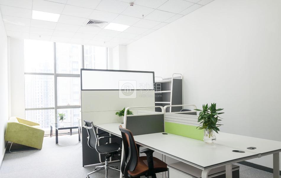 光浩国际中心-具客众创空间写字楼出租70平米精装办公室11000元/间.月