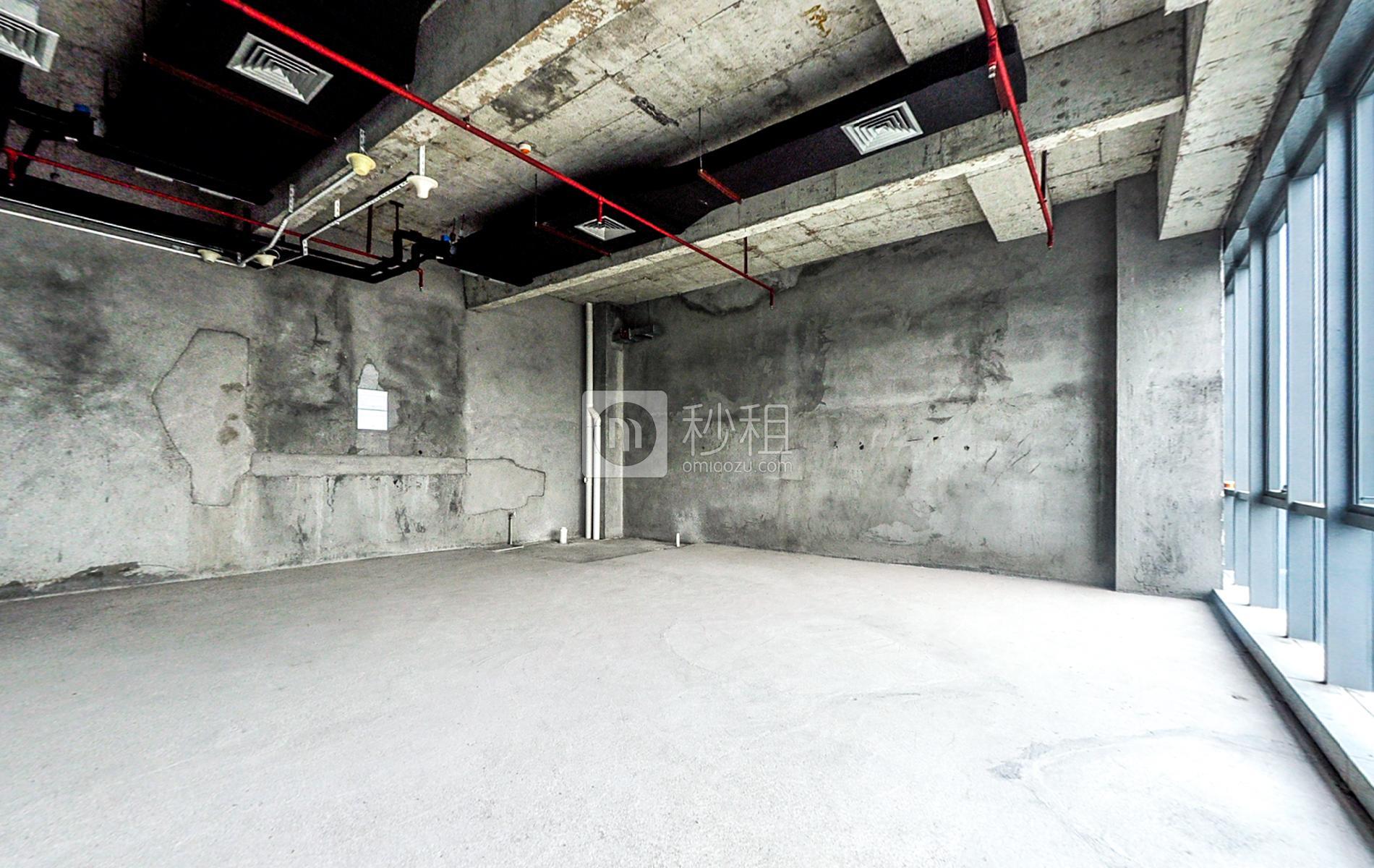 观澜湖国际大厦写字楼出租321平米毛坯办公室65元/m².月
