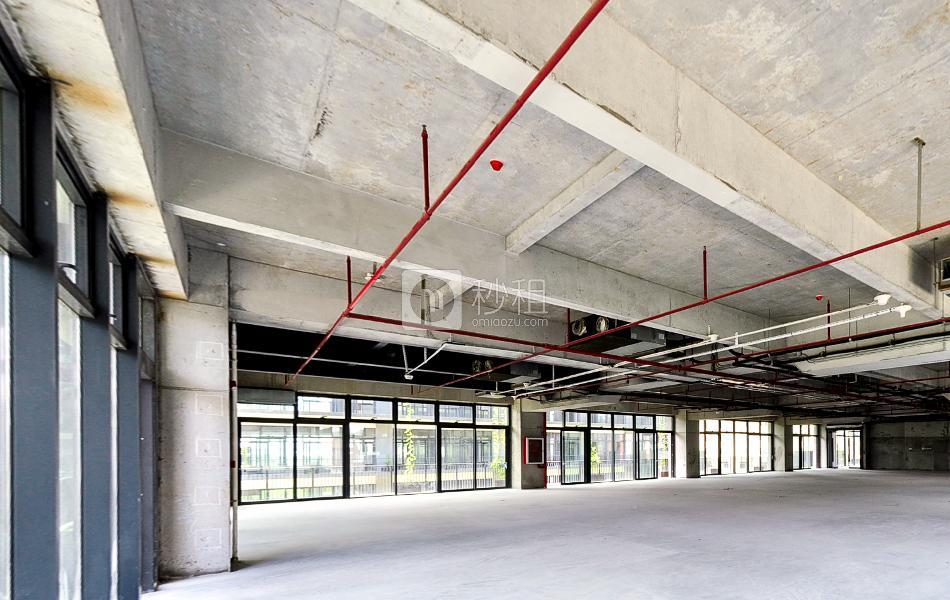 泰华梧桐岛写字楼出租750平米毛坯办公室80元/m².月