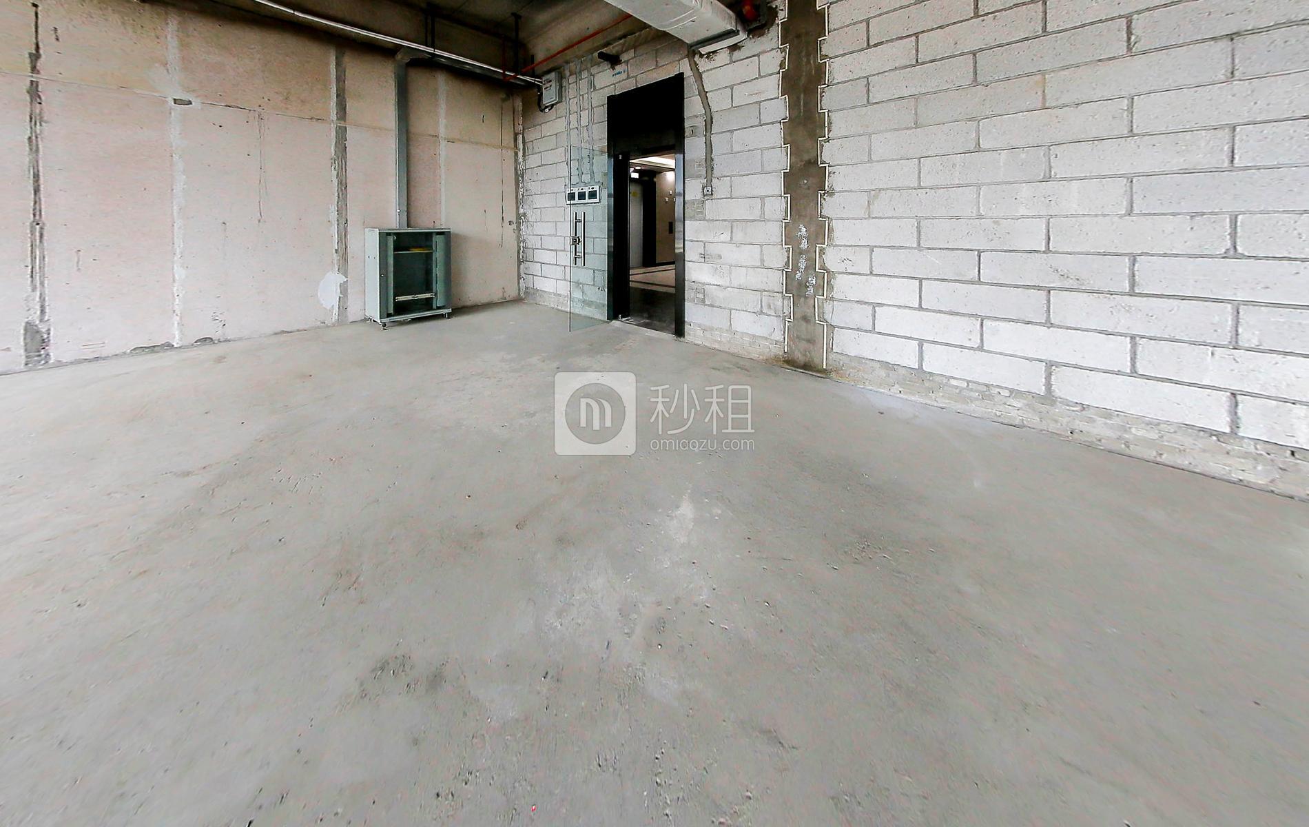创业投资大厦写字楼出租332平米毛坯办公室135元/m².月