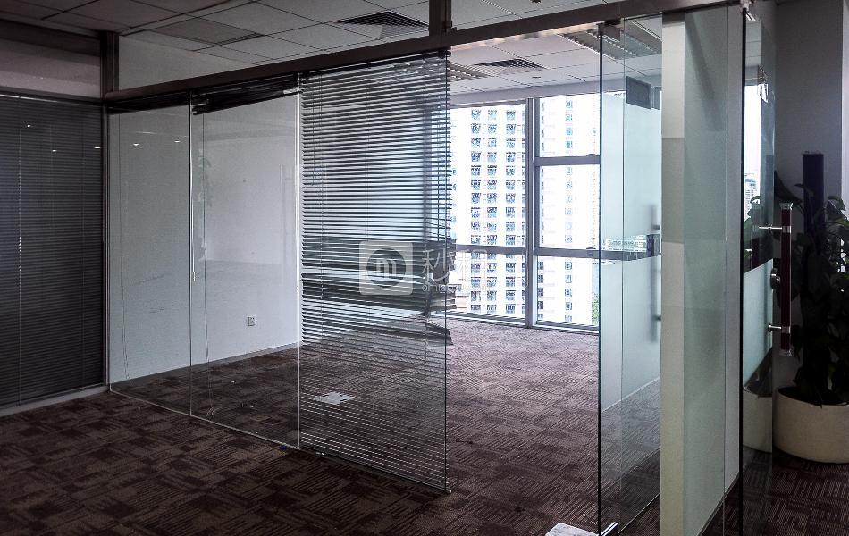 富力盈泰广场写字楼出租306平米精装办公室160元/m².月
