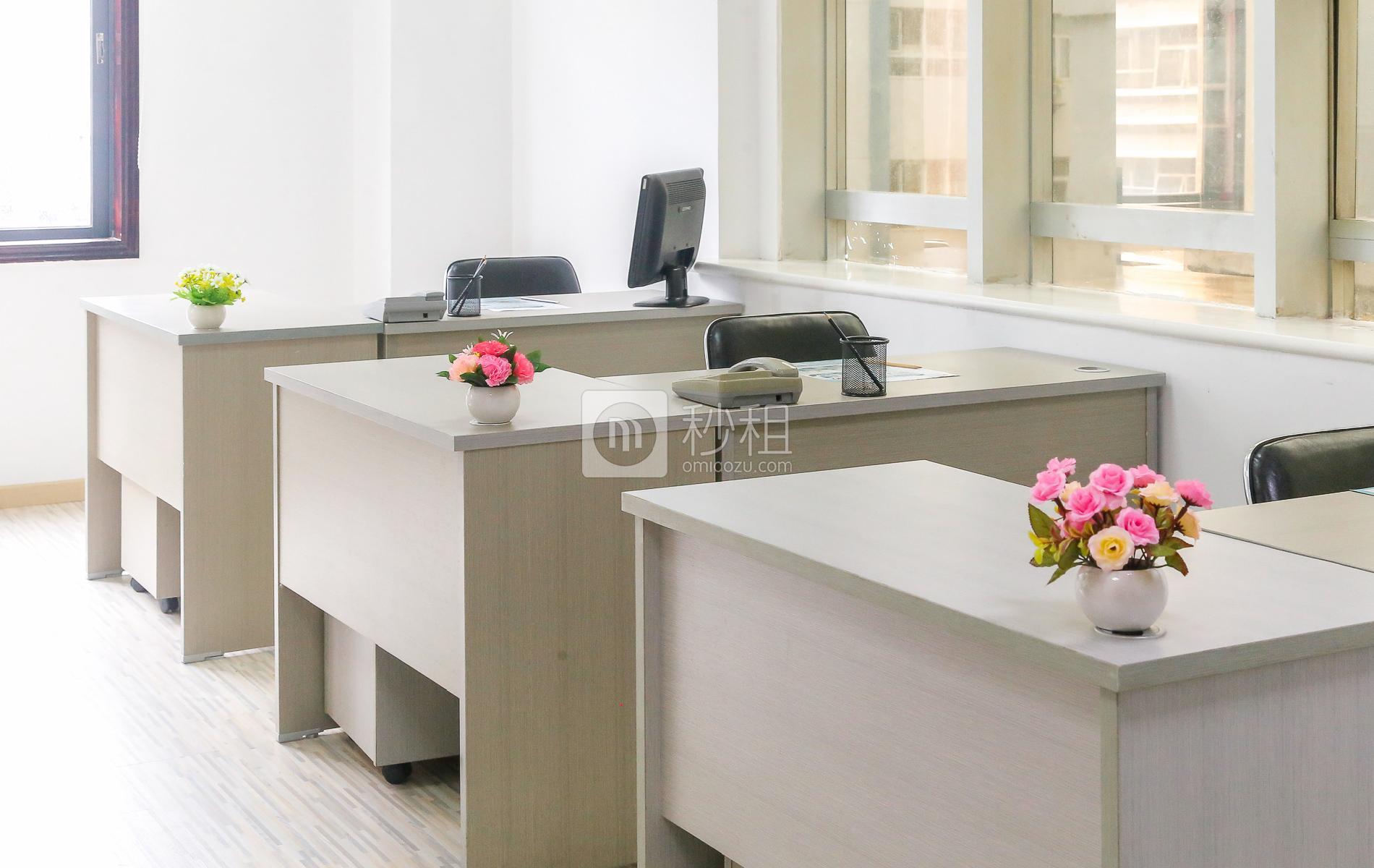 金晖大厦-创友商务中心写字楼出租60平米精装办公室8880元/间.月