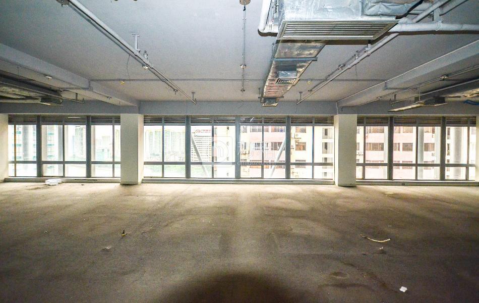港汇大厦写字楼出租445平米简装办公室90元/m².月
