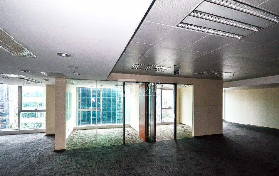 东照大厦写字楼出租166平米简装办公室95元/m².月