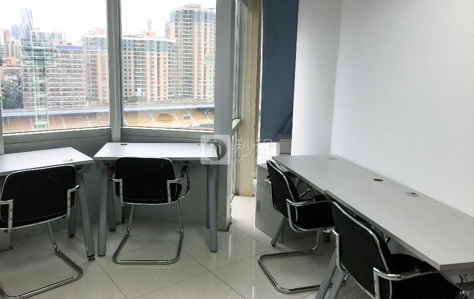 中华国际中心-创富港写字楼出租10平米简装办公室3090元/间.月