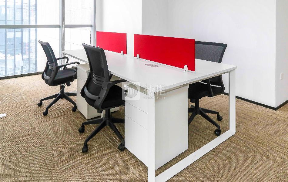 迈科龙大厦-I work写字楼出租196平米精装办公室37000元/间.月