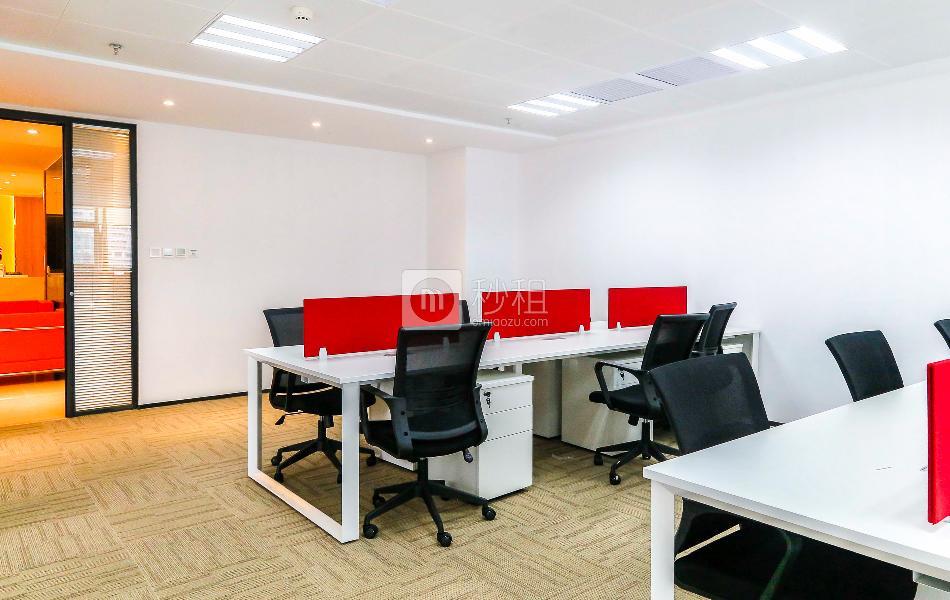 迈科龙大厦-I work写字楼出租264平米精装办公室55000元/间.月