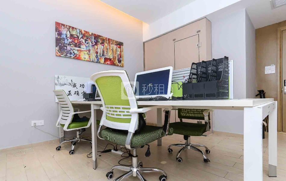 大运软件小镇-北航天汇孵化器写字楼出租20平米精装办公室2500元/间.月