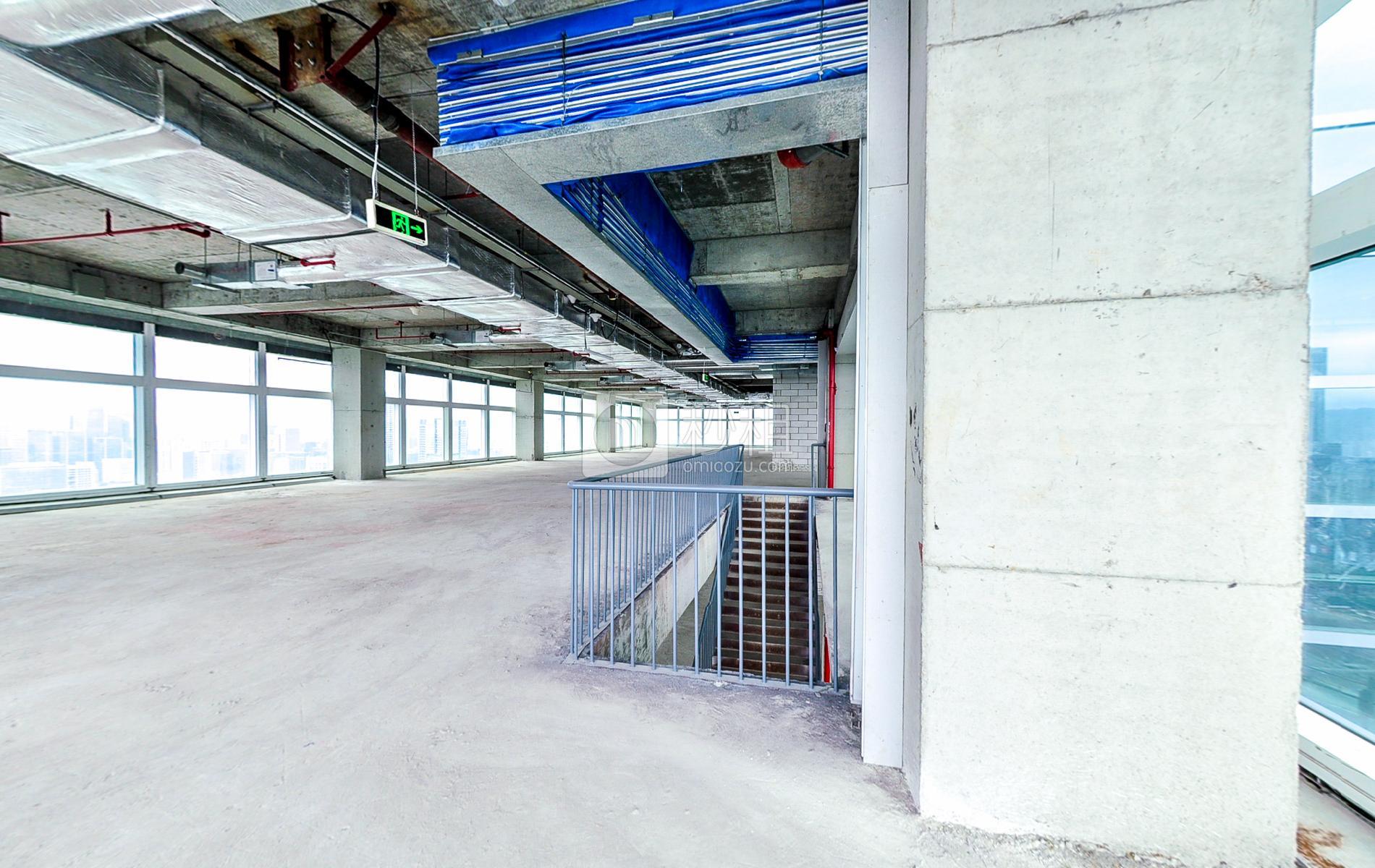 百度国际大厦写字楼出租850平米毛坯办公室200元/m².月