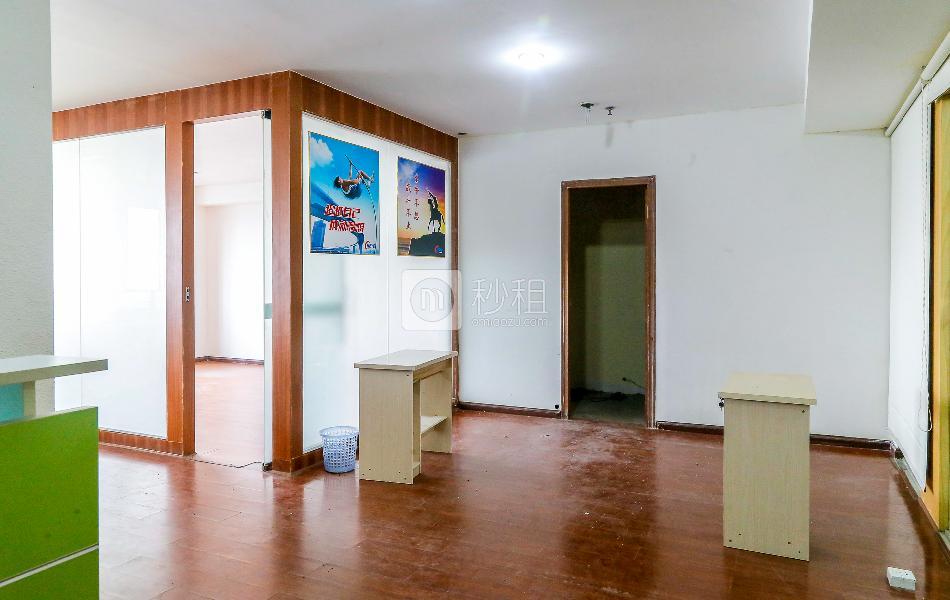 宏奕大厦写字楼出租130平米精装办公室53元/m².月